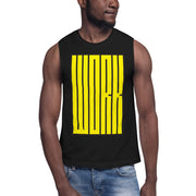 HARD WORK Muscle Shirt
