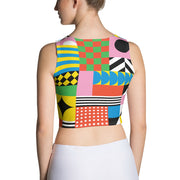 Dazzling Colorful Crop Top