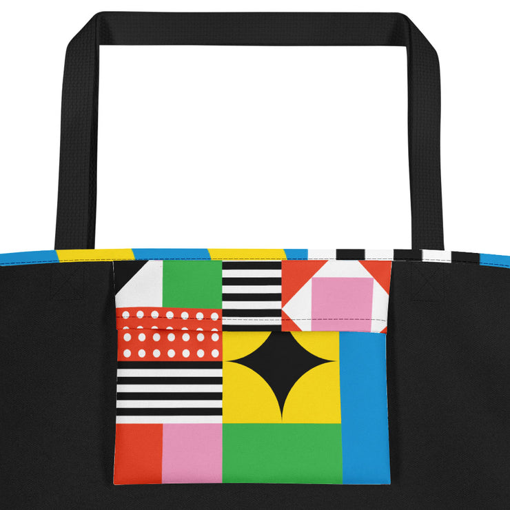Dazzling Colorful Beach Bag