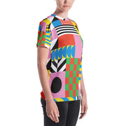 Dazzling Colorful Tee for Women