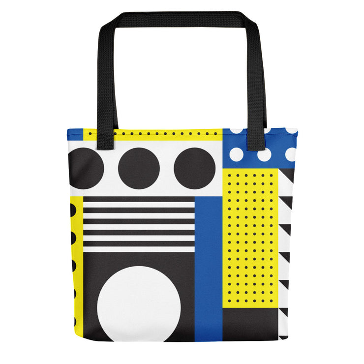 Dazzling Blue&Yellow Tote