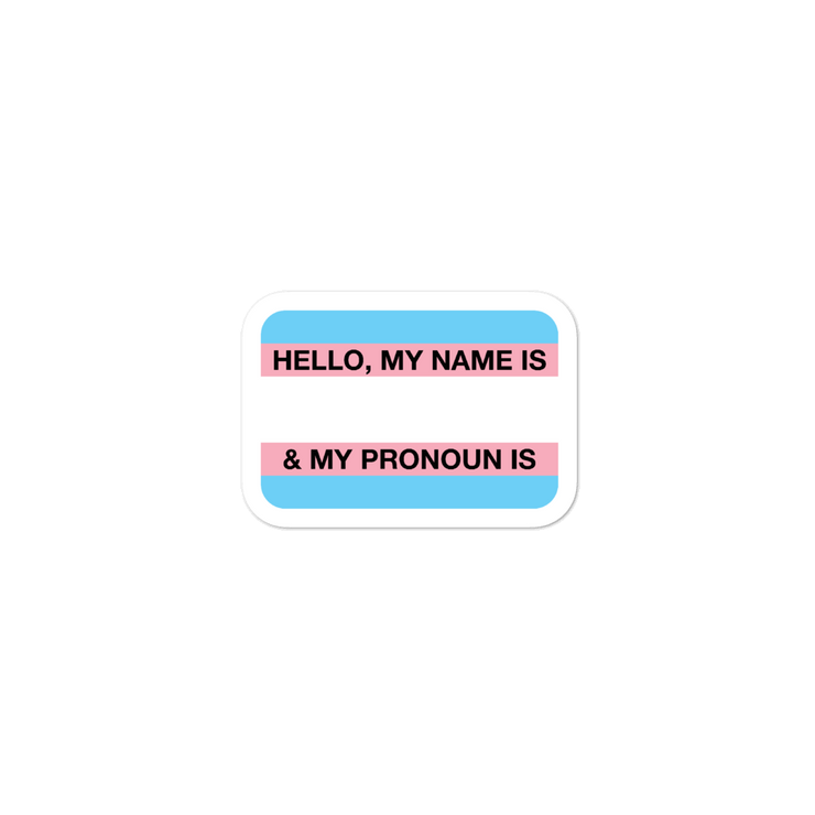 Hello, I'm Trans Sticker