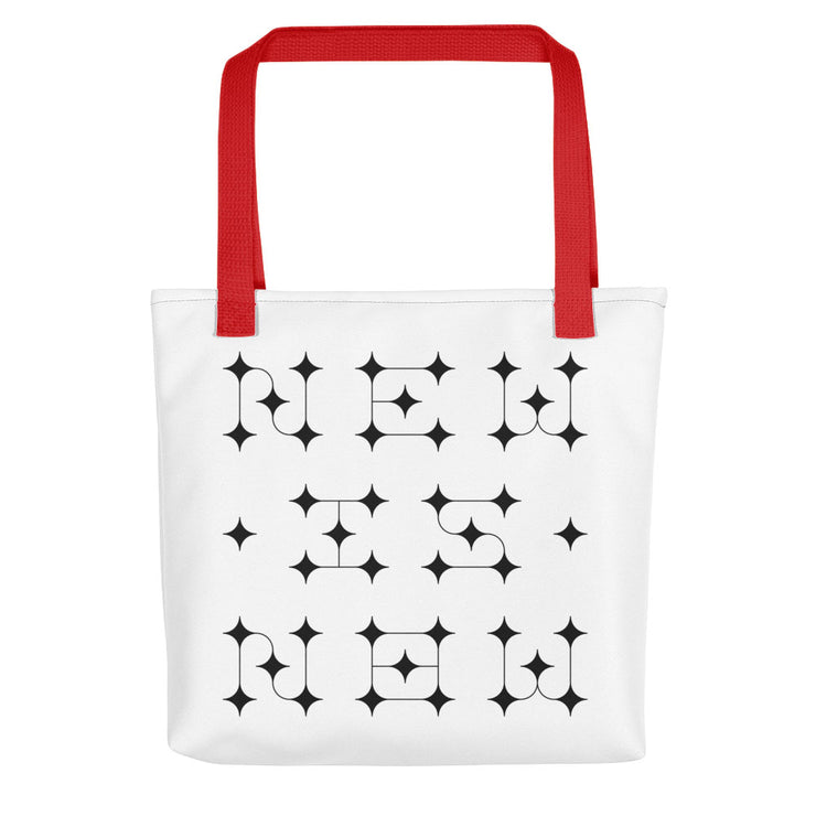 NEW IS NOW Tote