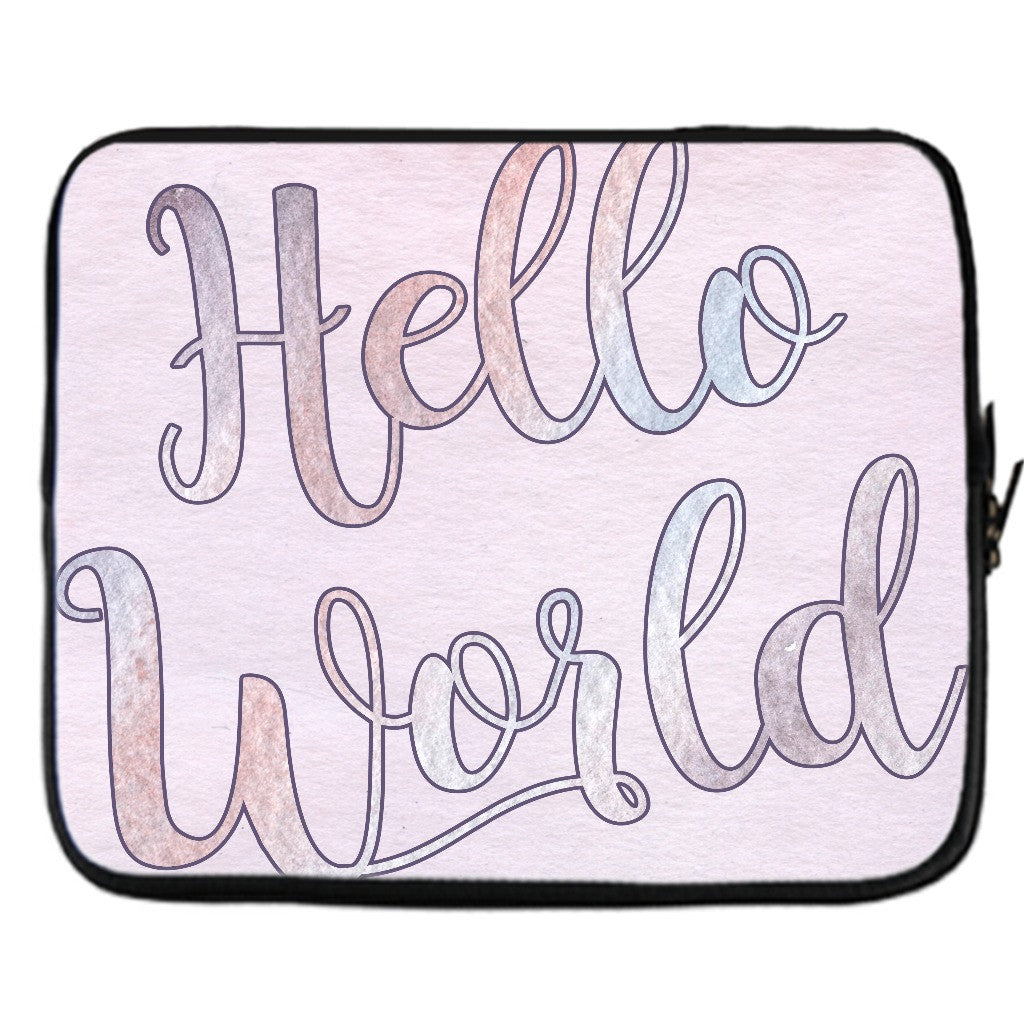 Hello World Laptop Case