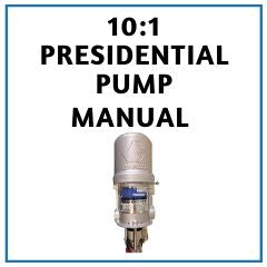 Graco 10:1 Presidential Pump Manual