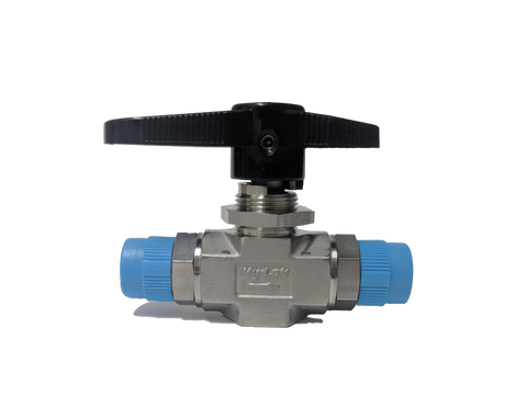 "High Pressure Ball Valve 6,000 PSI 3/8"" x 3/8"" MNPT - AGB Weatherproofing Technologies, LLC"