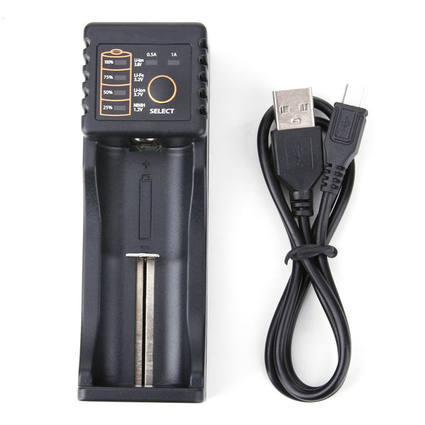 USB battery charger for Li-ion batteries