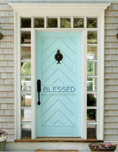 Customized Front Door Decal