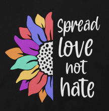 Spread Love, Not Hate Tank-Tops, ADULT SIZES