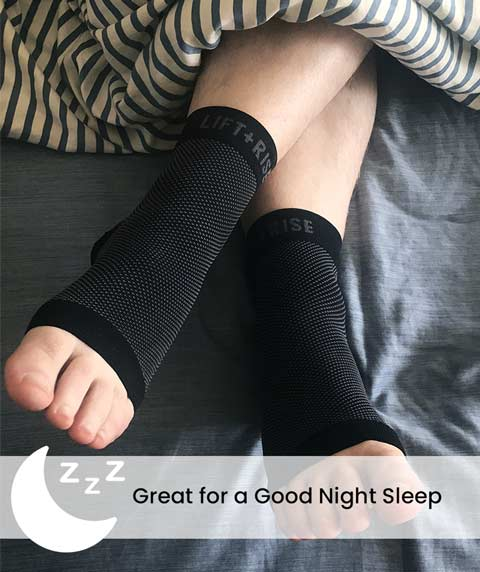 FlexyFit Feet Compression Sleeve Overnight Therapy