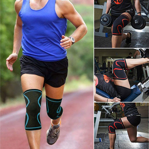 Knee Compression Sleeves - Reduce Sore Knees