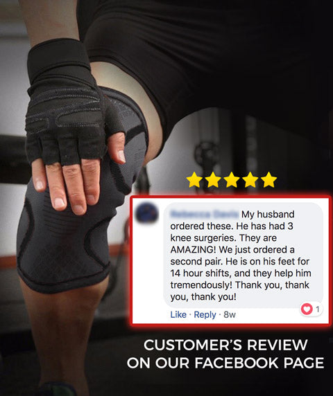 Testimonials about OxyFlow Knee Compression Sleeves