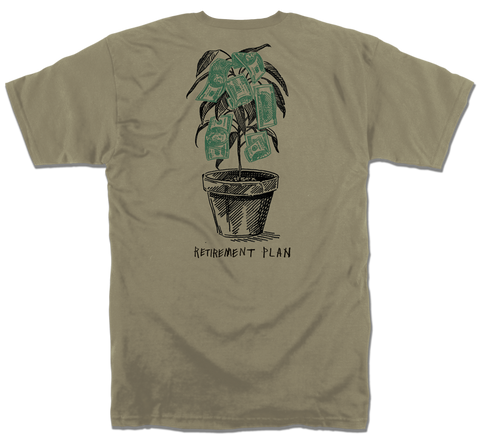 RETIREMENT TSHIRT - SAFARI
