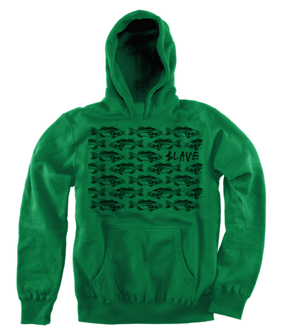 BASS DESTRUCTION HOOD - GREEN