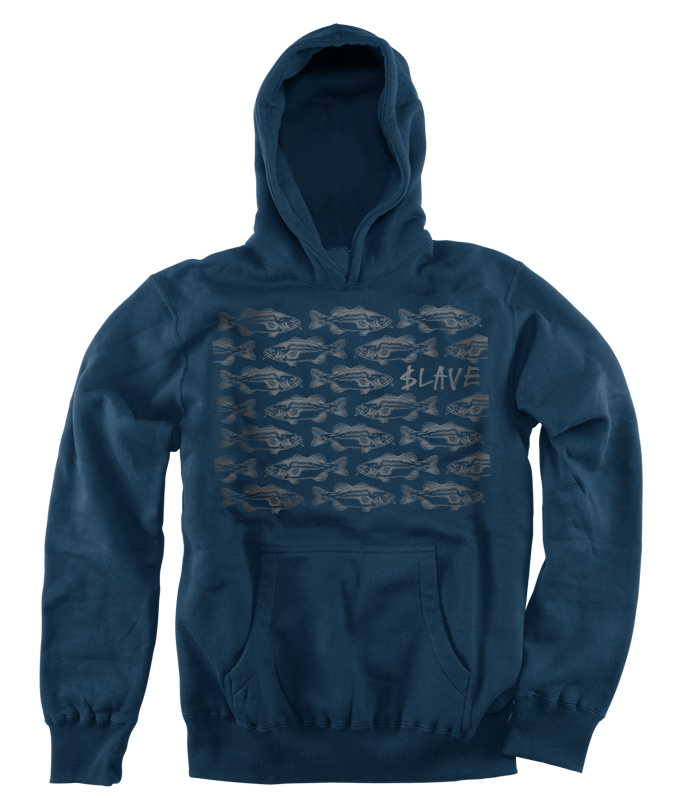 BASS DESTRUCTION HOOD - NAVY