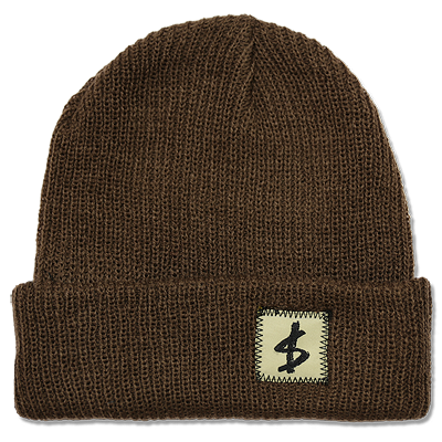 $TANDARD BEANIE - SLOTH BROWN