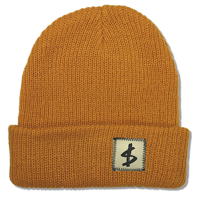 $TANDARD BEANIE - SOLID GOLD
