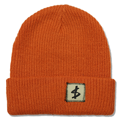 $TANDARD BEANIE - SAFETY ORANGE