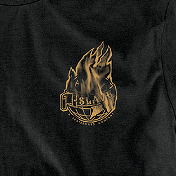 BURNING WORLD TSHIRT - BLACK