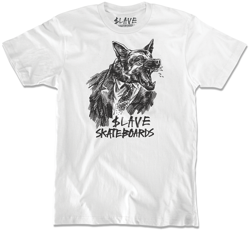 DOGS TSHIRT - WHITE