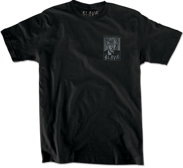 FLAT HEAD TSHIRT - BLACK