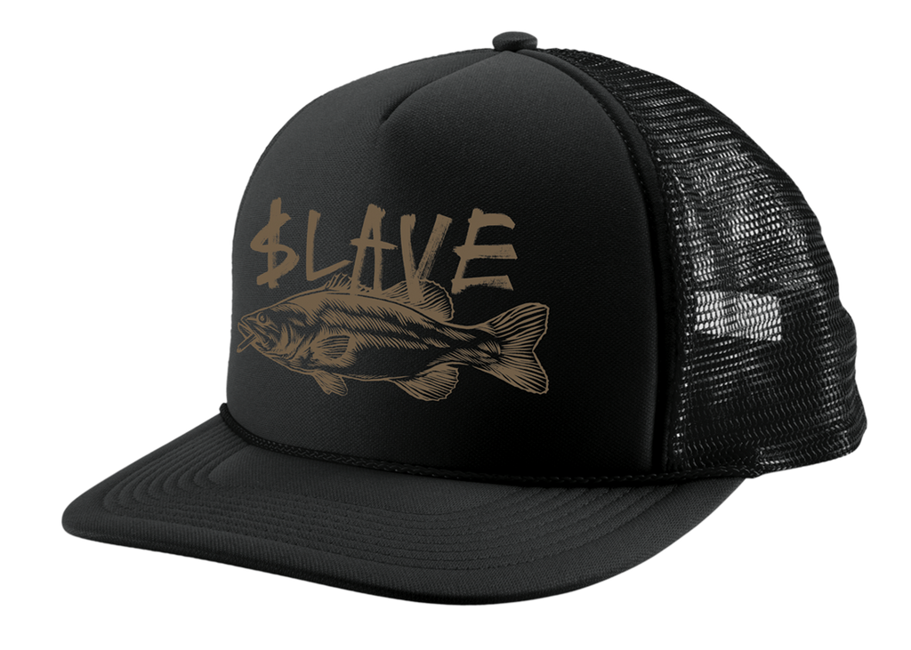 BASS DESTRUCTION MESH HAT - BLACK