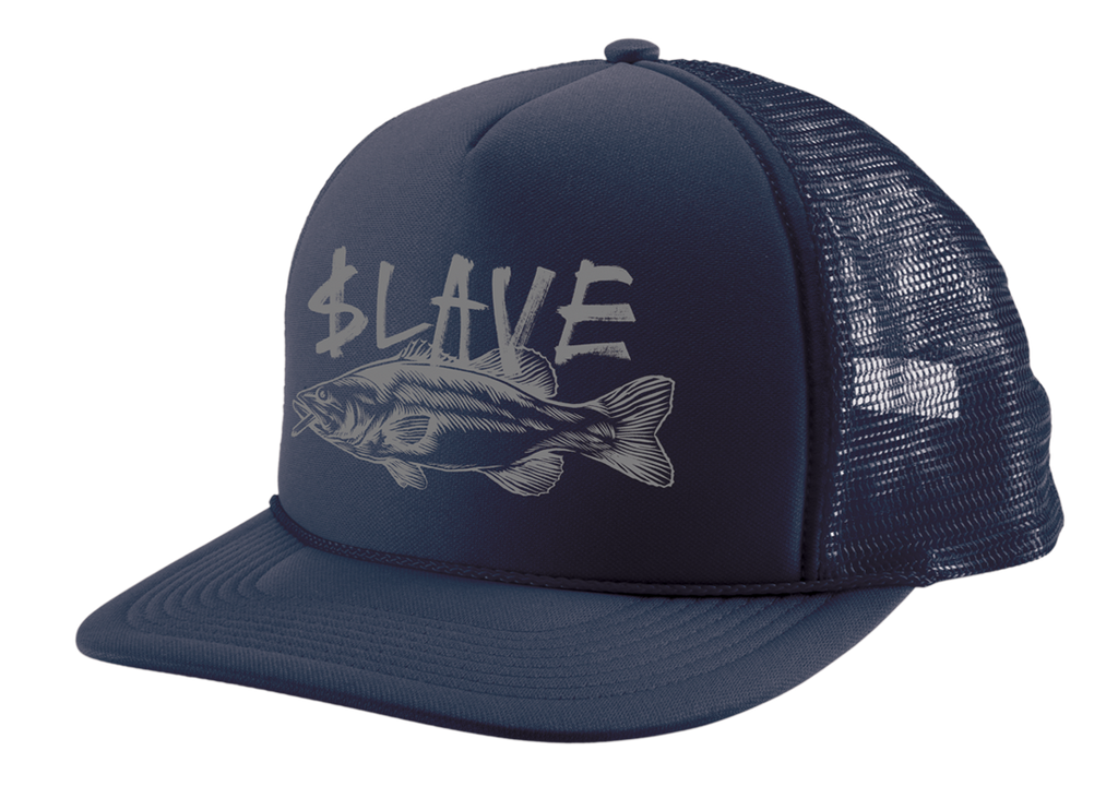 BASS DESTRUCTION MESH HAT - NAVY
