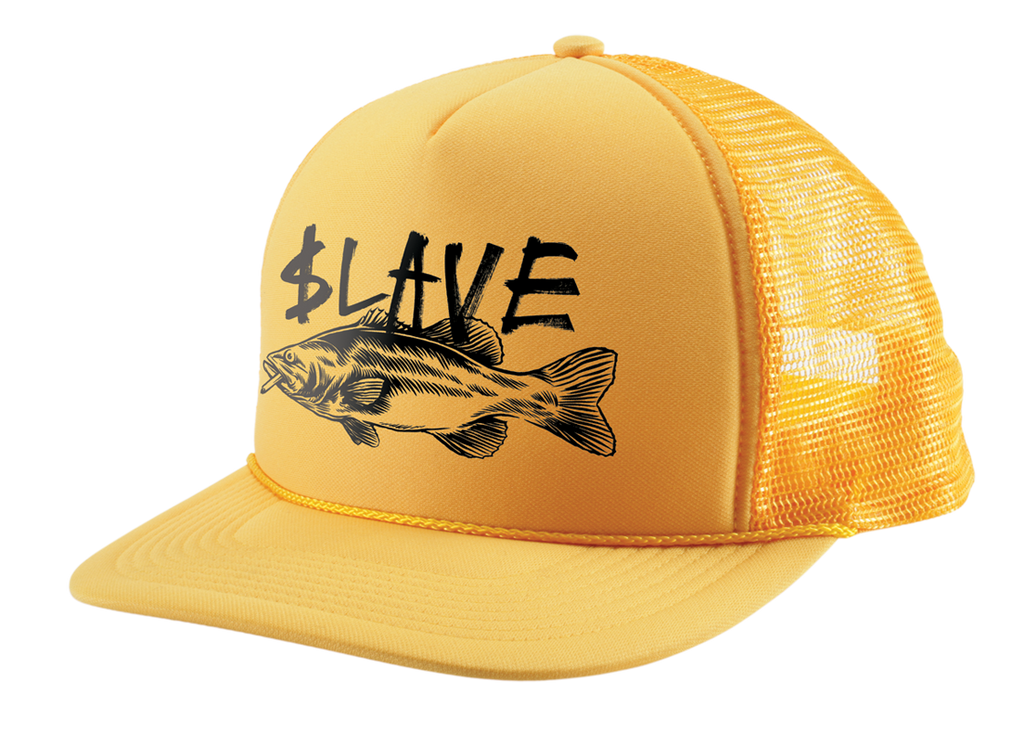 BASS DESTRUCTION MESH HAT - YELLOW