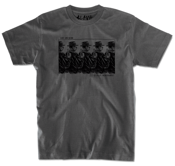 COPY MACHINE TSHIRT - CHARCOAL