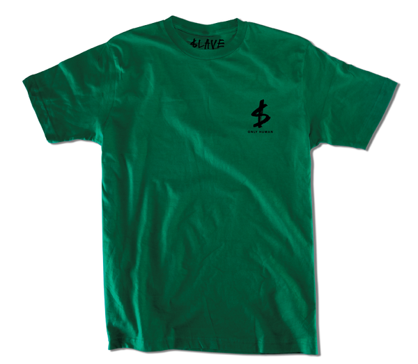 CIRCLE OF DEATH TSHIRT - FOREST GREEN