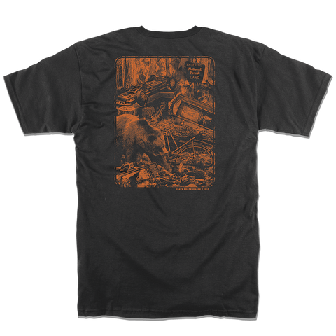 SHUTDOWN TSHIRT - BURNT BARK