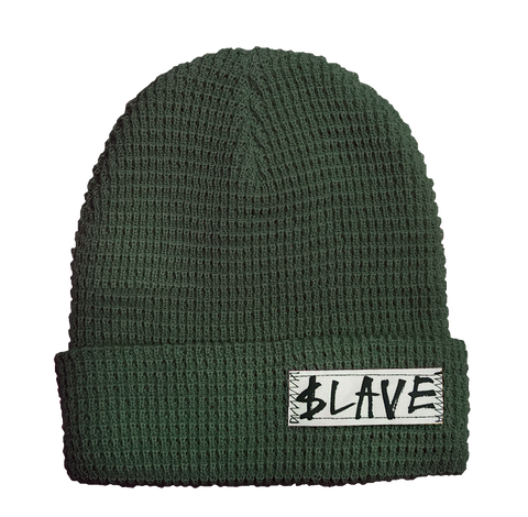 SOLID BEANIE - ARMY