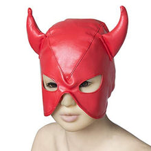 Devil Fetish Mask - Red