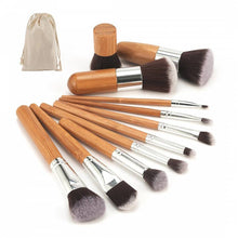 Bamboo Brushes Set with Carry Bag