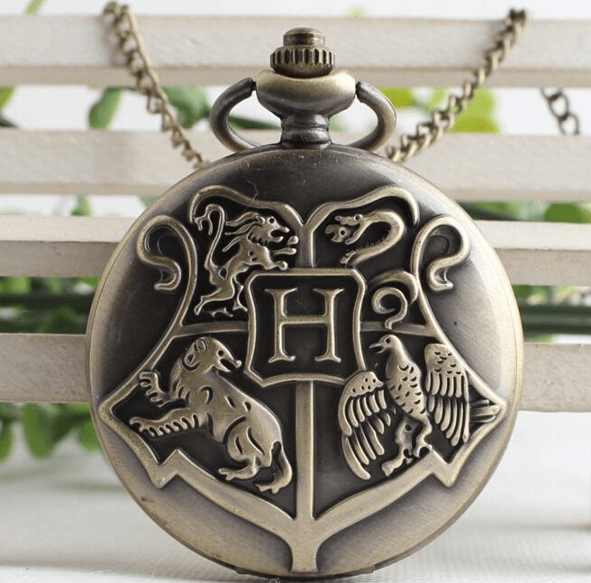 Harry Potter Inspired Pocket Watch - Health & Beauty - www.fastdeals.co.uk