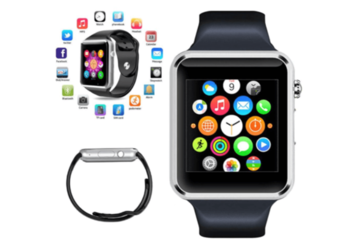 FITSTEP A1-HRGSM+ Bluetooth Smart Watch - Health & Beauty - www.fastdeals.co.uk