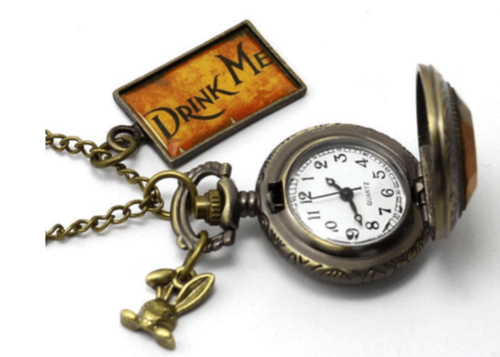 Alice in Wonderland Inspired Pocket Watch - Toys & Games - www.fastdeals.co.uk