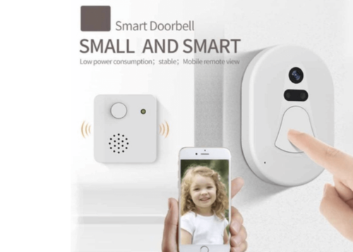 Wireless Smart Door Camera System - Mobile Access - Electronics - www.fastdeals.co.uk