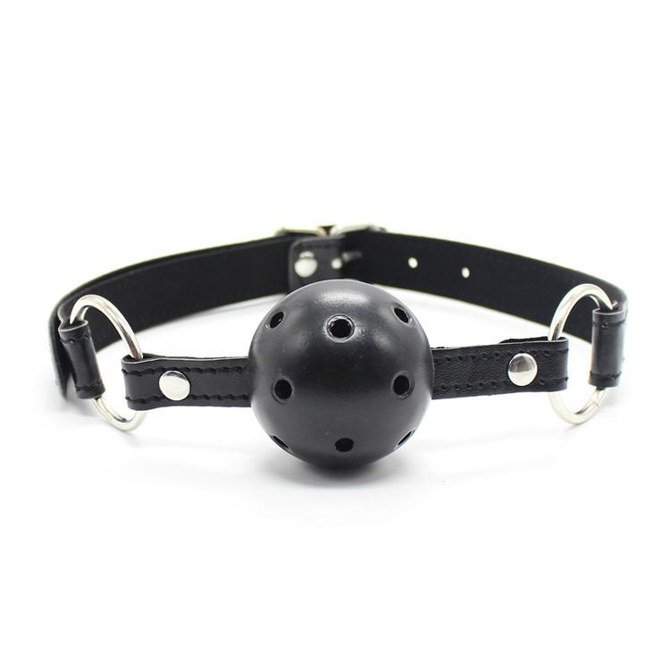 'SSShhh' Ball Gag - Black