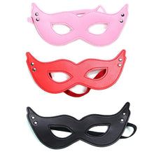Sexy Cat Eye Mask Party Club Accessory Leather Private Label Bondage Warm Eye Mask