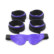 Bdsm Bondage Set Restraint Fuzzy Handcuff Ankle Cuff Neck Cuff Adult Sex Toy