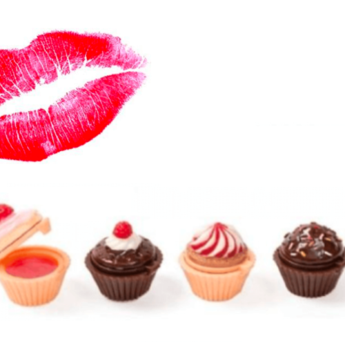 Kiss Kiss Cupcake Lip Gloss - set of 4 - Health & Beauty - www.fastdeals.co.uk