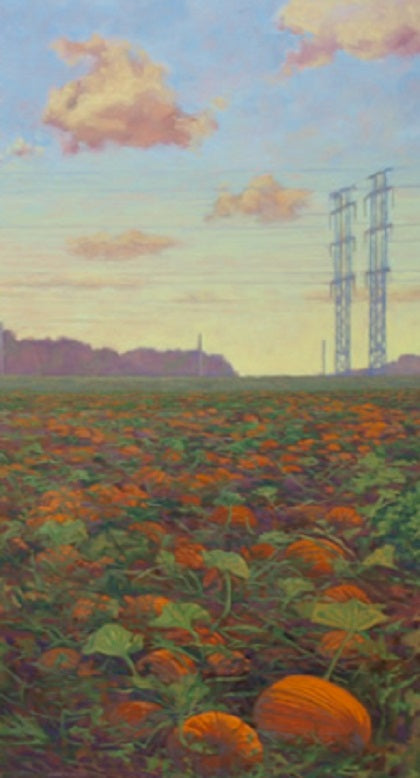 Pumpkin Patch and Power Lines, Ottawa