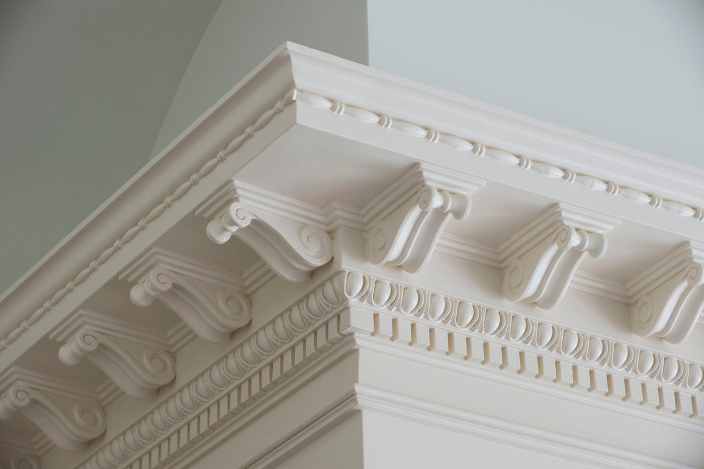 Quality architectural mouldings offered in wood, plaster and resin