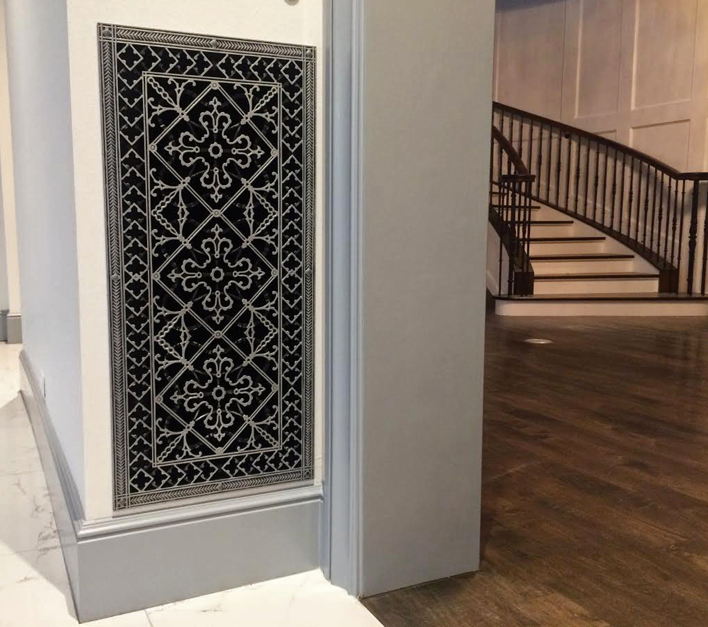 Picture of: Decorative Hvac Vent Covers With Free Hand Applied Designer Finishes
