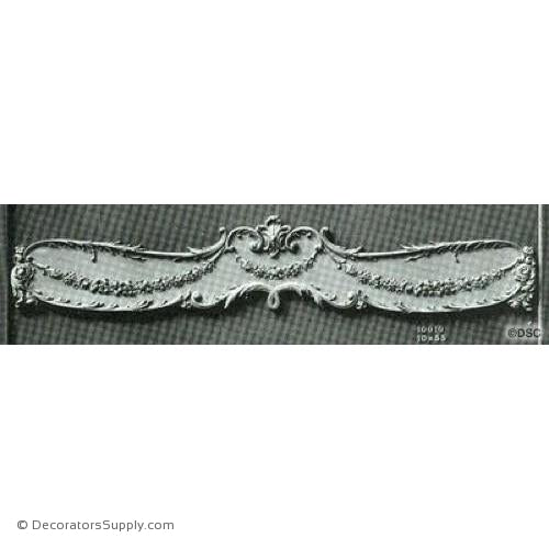 Valance -Louis XV 10H X 55W - 10 - 1 1/2Relief-hand-built-custom-sizes-Decorators Supply