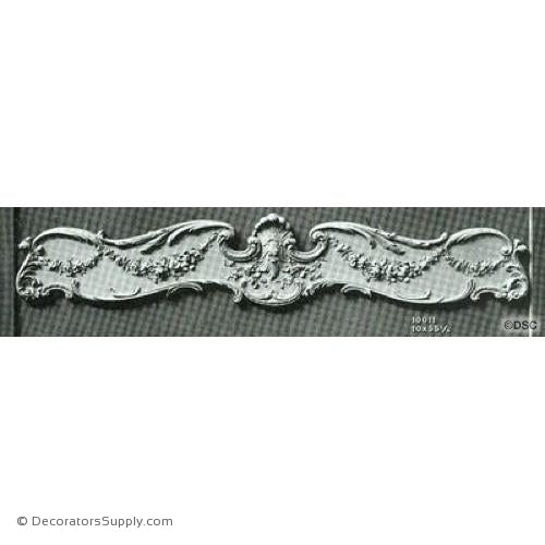 Valance -Louis XV 10H X 55 1/4W - 10 - 2Relief-hand-built-custom-sizes-Decorators Supply