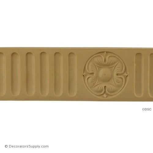 Fluted-Colonial 2H - 1/4Relief-moulding-for-furniture-woodwork-Decorators Supply