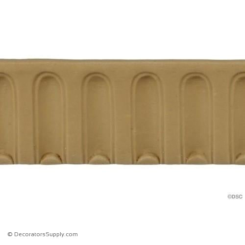 Fluted-Colonial 1 1/2H - 1/4Relief-moulding-for-furniture-woodwork-Decorators Supply
