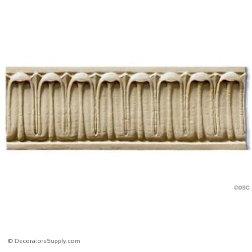 Lmab's Tongue - Colonial 2 3/8H - 1/4Relief-moulding-furniture-woodwork-Decorators Supply